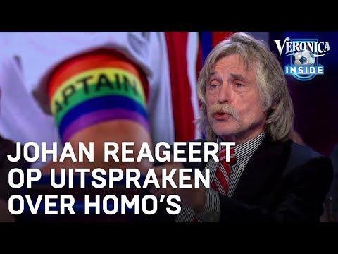 Johan reageert op uitspraken over homo's | VERONICA INSIDE