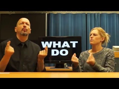 American Sign Language - ASL Lesson 16