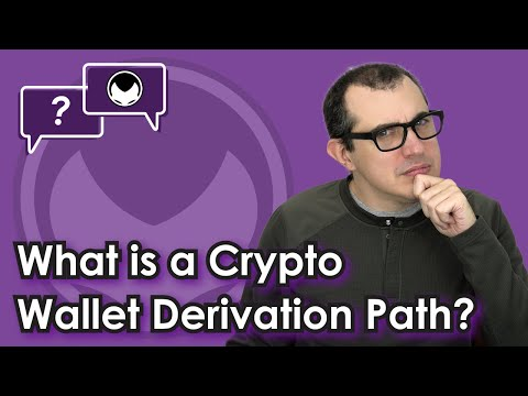 Crypto Wallets, Backup, & Recovery: What is a Crypto Wallet Derivation Path?