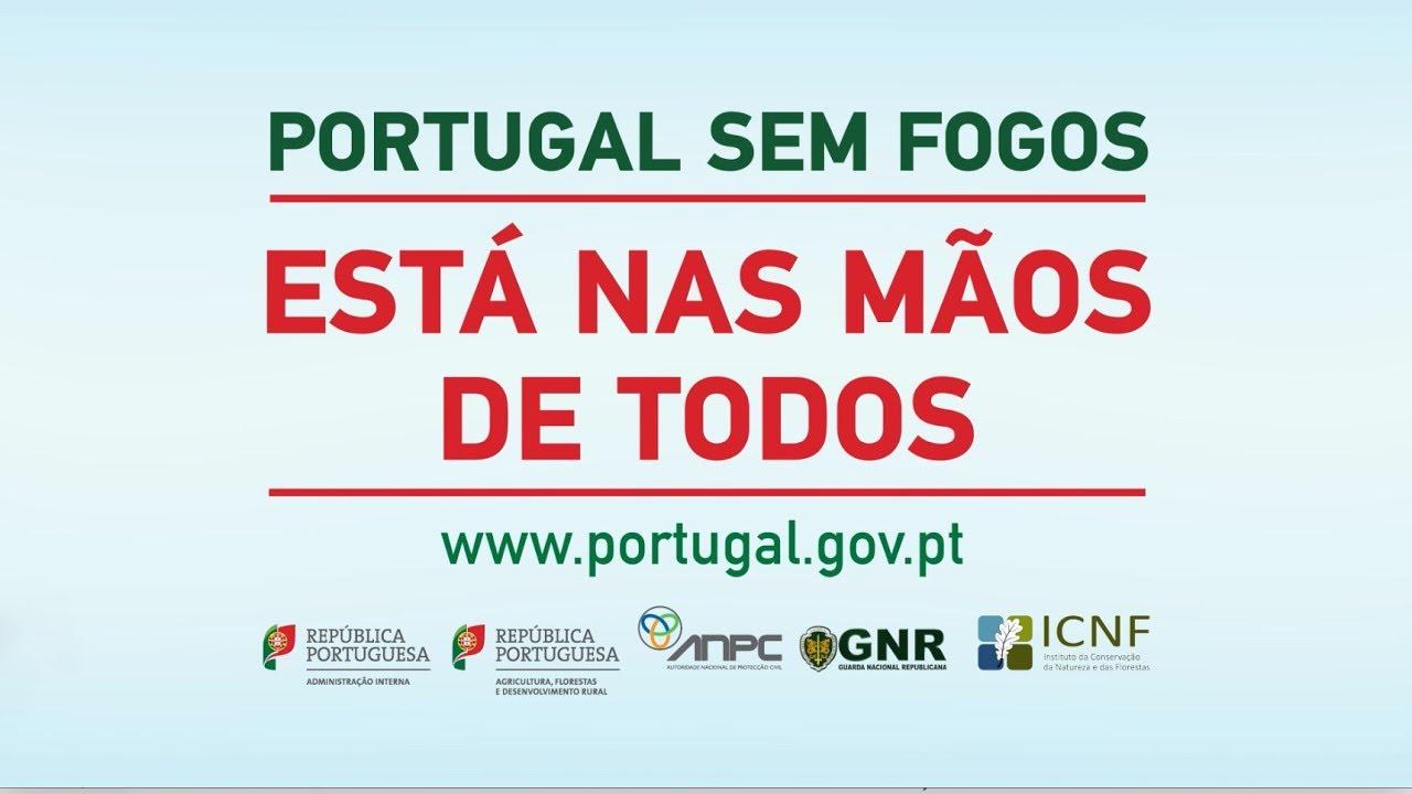 PORTUGAL SEM FOGOS - Está nas mãos de todos