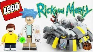 Rick and Morty LEGO Custom Minifigures 2017