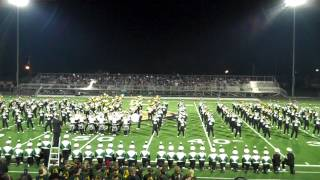 "Marching 110 - OU Marching Band - ""You Shook Me All Night Long"" - ACDC - 8/25/2012"