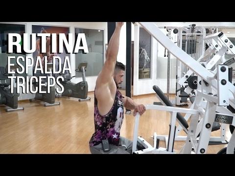 Rutina para Espalda y Triceps con Entrenador y Competidor Jorge Romero