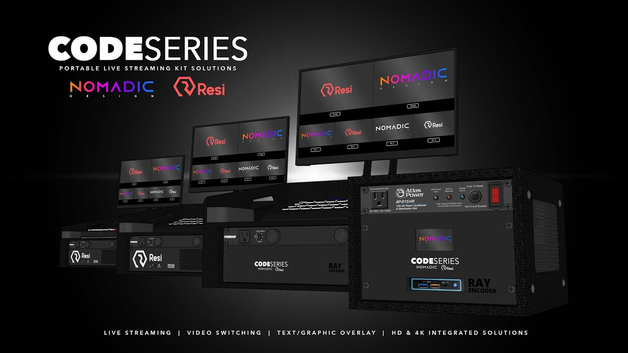 CODE Series - Portable Live Streaming Kit Solutions