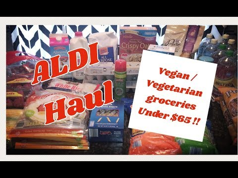 Weekly Grocery Haul | Under $65 for family of 4!! Vegan / Vegetarian