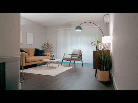 Minimalist Apartment Tour | Silicon Valley 700ft2/65m2