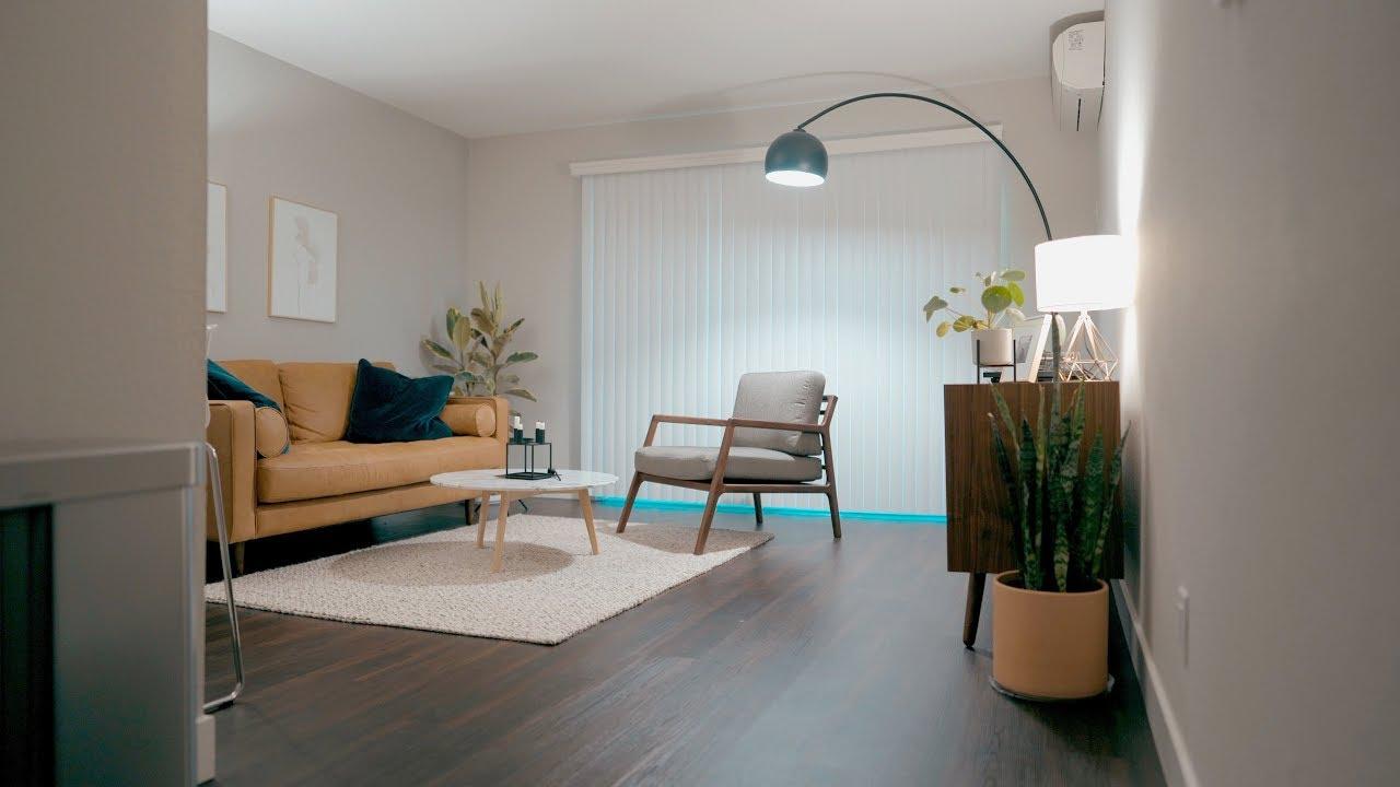 Minimalist Apartment: Silicon Valley 700ft2/65m2