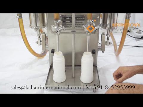 Pesticide liquid filling machine KI-SLF
