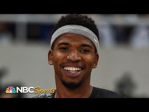 Samba Holds off Benjamin in 400 Meter Hurdles Duel | NBC Sports