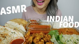 BEST Indian Food | ASMR *No Talking Relaxing Eating Sound | N.E Let's Eat