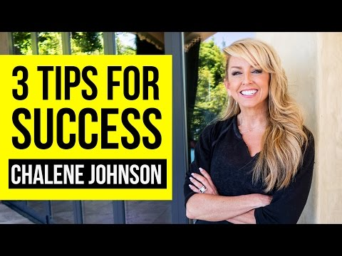 3 Tips For Success With Chalene Johnson - YouTube