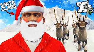 FRANKLIN becomes SANTA CLAUS in GTA 5