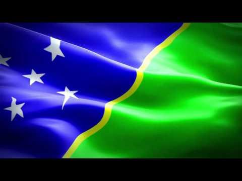 علم جزر سليمان  Flag of the Solomon Islands