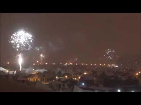 Салют в Краснодаре на Новый год