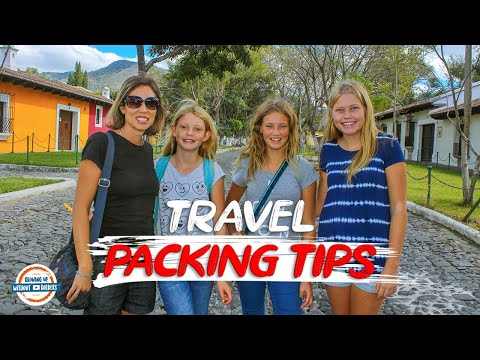 Travel Packing Tips | How to Pack a for a Trip & Packing Checklist Download | 90+ Countries w/3 Kids