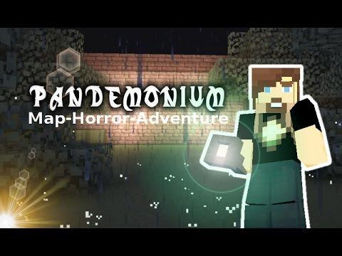 Pandemonium 1 & 2 - Minecraft Horror Map Adventure - gussdx, fr, hd