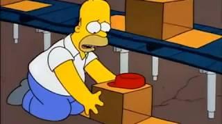 I Simpson ITA - Bart diventa una scatola - Homer fa la doccia a lavoro