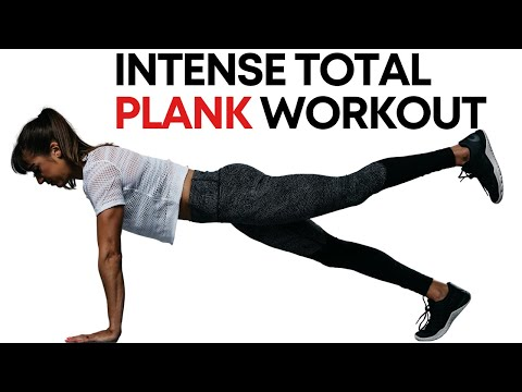 Intense Total Plank Workout - 7 Minute Plank Burner
