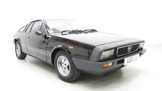 A Rare Lancia Beta Montecarlo Coupe, 79,513 Miles, Cherished, Former Keeper 24 years - SOLD!