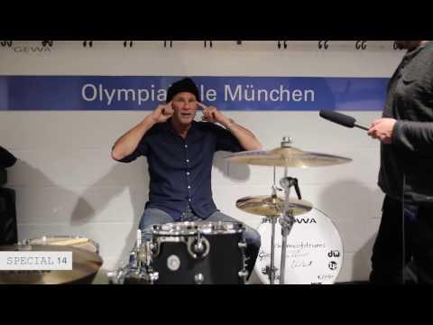 Chad Smith - Interview / GEWA drums (DW/Remo)