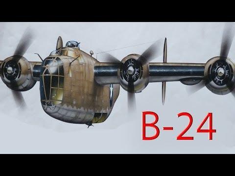 CONSOLIDATED B-24 LIBERATOR - Documentario Delta Editrice Ita