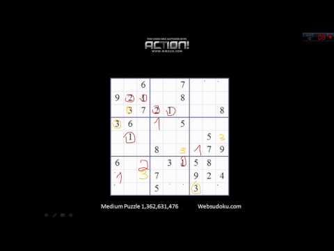 Łamanie Głowy #1 - Sudoku