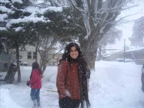 invierno en The Dalles oregon