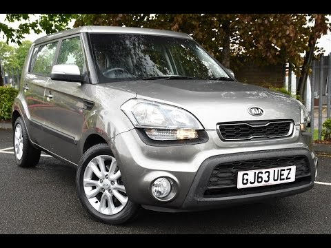 used kia soul 1 6 crdi 2 5dr auto silver 2013 youtube. Black Bedroom Furniture Sets. Home Design Ideas