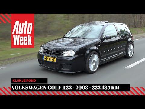 Volkswagen Golf R32 - 2003 - 332.185 km - Klokje rond