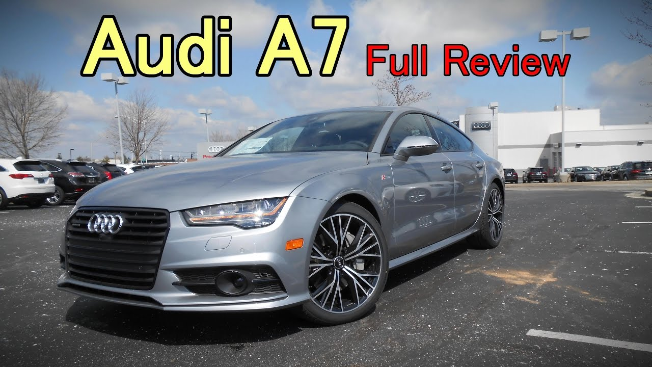 What Is The Difference Between Audi Premium And Prestige >> 2017 Audi A7 Full Review Competition Prestige Premium Plus