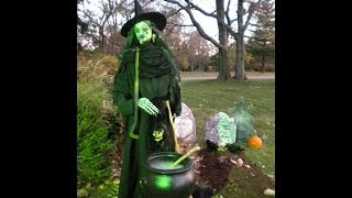 How to make a Life Size Scary Shakesperean Witch for Halloween