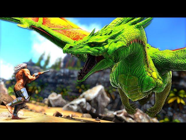 Taming the ALMIGHTY PRIMEVAL DRAGON! (Over Lvl 1000!) | ARK Survival Evolved PUGNACIA #38