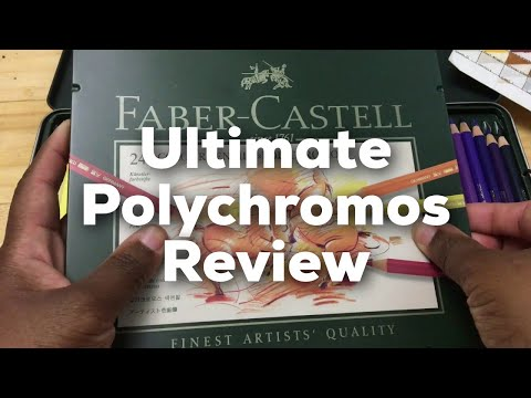 Ultimate Faber Castell Polychromos Colored Pencils Review