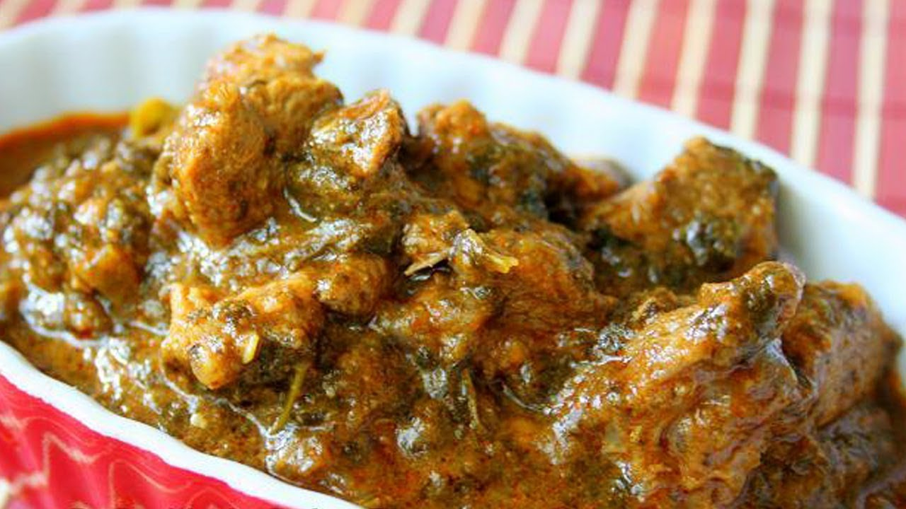 Gongura Mutton Curry Recipe - YouTube