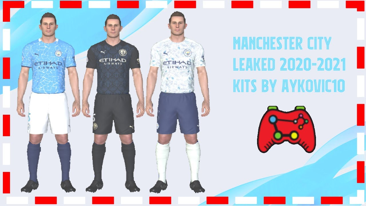 Pes 2017 Manchester City Official Leaked Kits 2021 By Aykovic10 Youtube