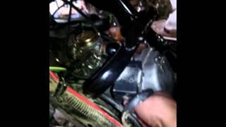скутер не реагирует на газ,не набирает обороты,работает на холостых(у меня такая проблема,все началось с того что я мыл скутер,и в воздушный фильтр попала вода,это я заметил..., 2014-08-26T20:01:47.000Z)