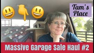 MASSIVE GARAGE SALE HAUL #2   LONGABERGER BASKETS   HOME DECOR   POSHMARK