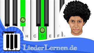 Andreas Bourani - Nur in meinem Kopf - Klavier lernen - Musiknoten - Akkorde