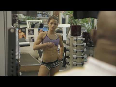 Megan Prescott: Dumbbells and Donuts  Final gym session before competition