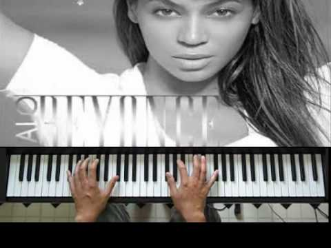 How To Play Beyonce's Halo On The Piano