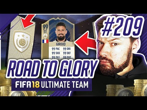 PRIME ICON GIROUD! - #FIFA18 Road to Glory! #209 Ultimate Team