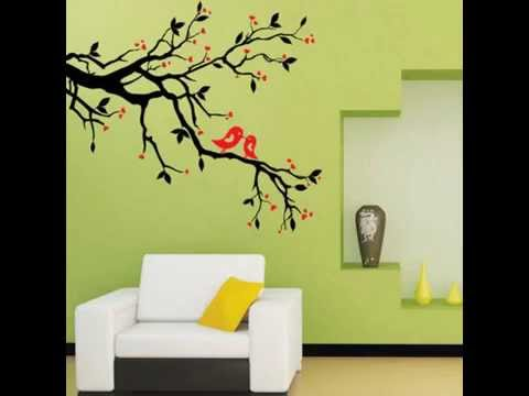 Love Heart Tree Bird Removable Vinyl Decal Wall Stickers Home Decor ...