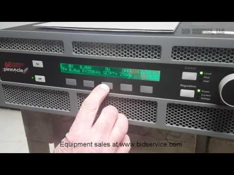 Advanced Energy Pinnacle Plus DC Power Supply #61434