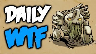 Dota 2 Daily WTF - 7.07 Deadwood commended