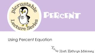 Percent Equation