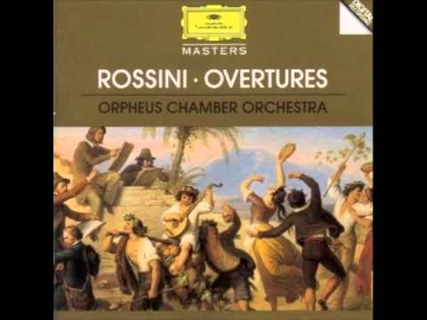 Rossini Overtures: Orpheus Chamber Orchestra
