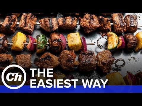 Easy Beef Shish Kebabs How To Make The Easiest Way Youtube