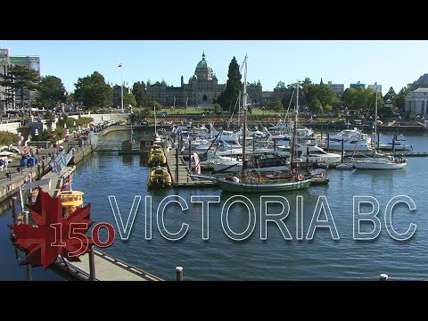 City Trailer downtown Victoria BC