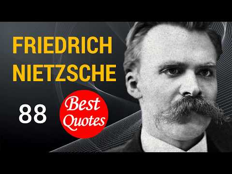 "🔴 The 88 Best Quotes by Friedrich Nietzsche! ★ ""Woman was God's second mistake."" 😀"