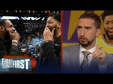 Lakers have the best duo after Anthony Davis trade - Nick Wright | NBA | FIRST THINGS FIRST